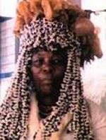 Traditional sangoma diviner healer