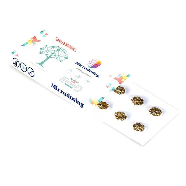 psychedelic psilocybin magic truffles microdosing pack