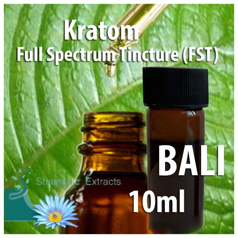 Kratom Full Spectrum Tincture (Bali FST)