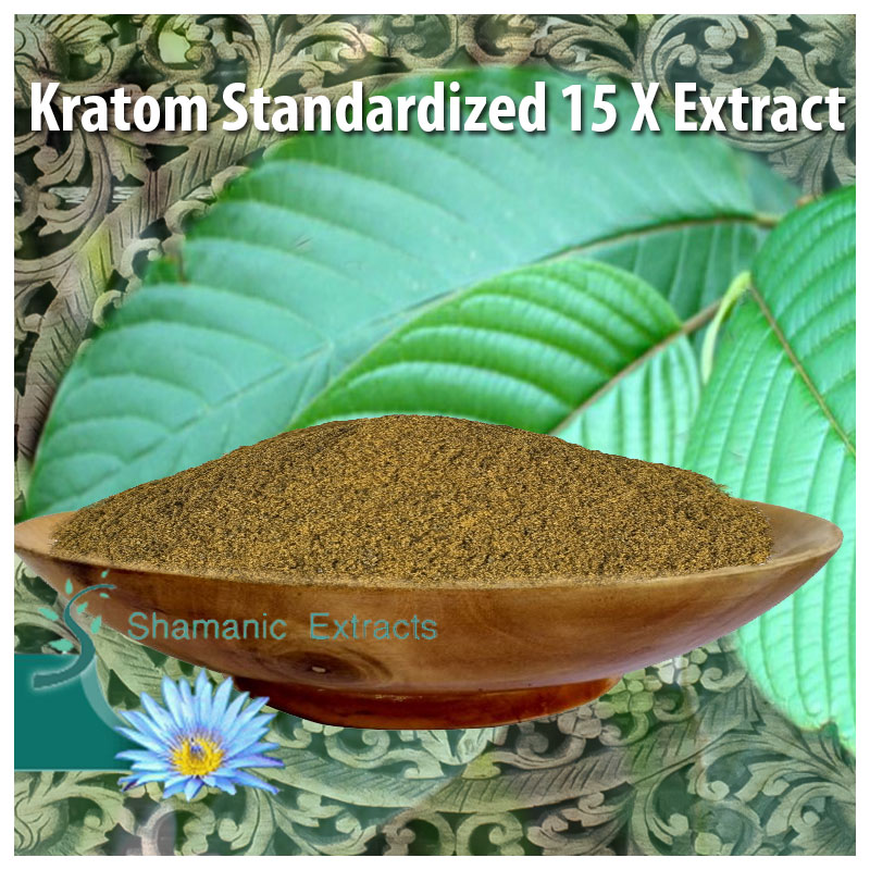 Kratom Standardized 15 X Extract