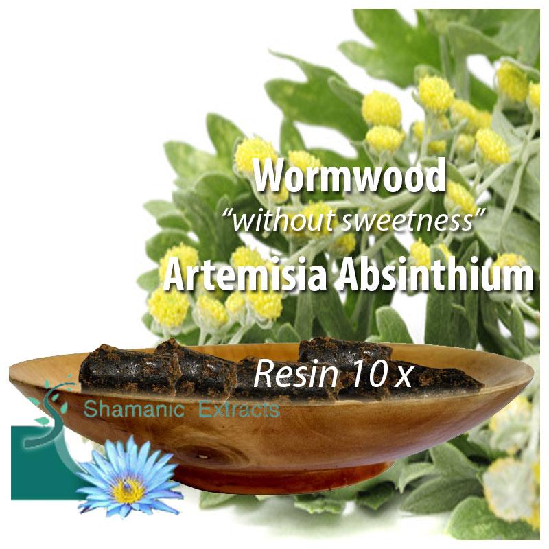 Wormwood 10x resin